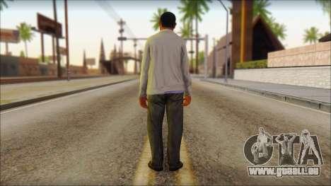 GTA 5 Ped 10 pour GTA San Andreas deuxième écran