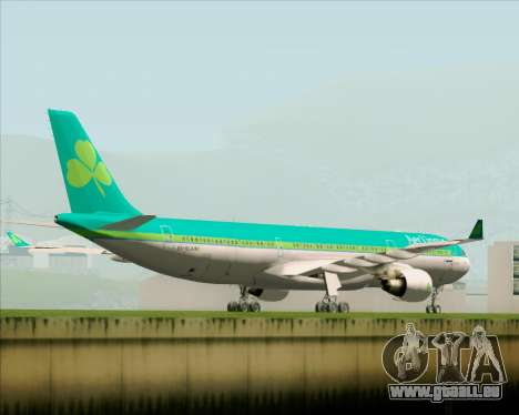 Airbus A330-300 Aer Lingus für GTA San Andreas rechten Ansicht