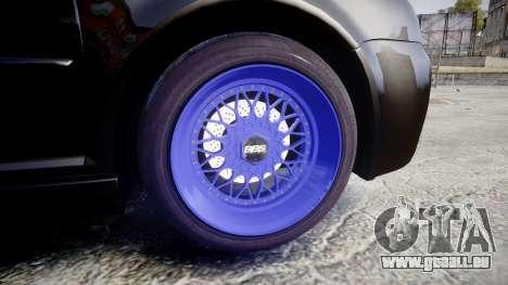 Volkswagen Golf Mk4 R32 Wheel1 pour GTA 4 Vue arrière