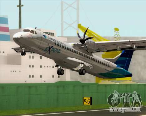 ATR 72-500 Garuda Indonesia Explore für GTA San Andreas Innen