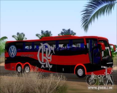 Busscar Elegance 360 C.R.F Flamengo für GTA San Andreas Motor