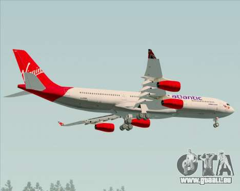 Airbus A340-313 Virgin Atlantic Airways für GTA San Andreas Innenansicht