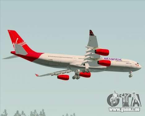 Airbus A340-313 Virgin Atlantic Airways für GTA San Andreas Innenansicht