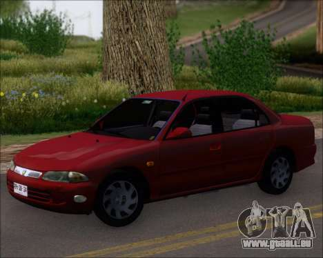 Proton Persona 1996 1.5 Gli pour GTA San Andreas sur la vue arrière gauche