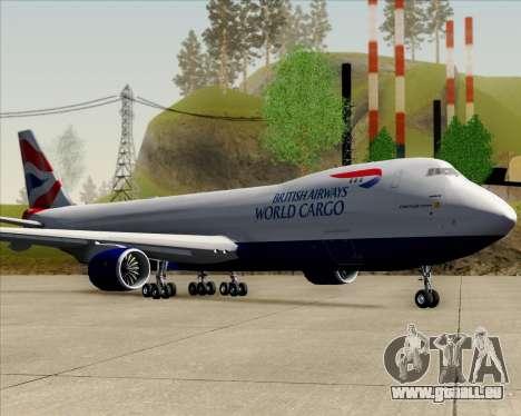 Boeing 747-8 Cargo British Airways World Cargo für GTA San Andreas