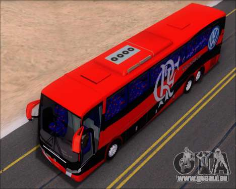 Busscar Elegance 360 C.R.F Flamengo pour GTA San Andreas vue de dessous