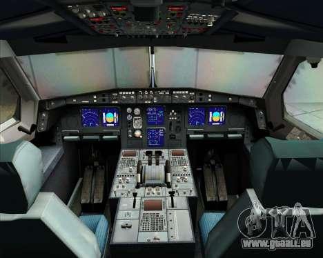 Airbus A340-313 Virgin Atlantic Airways pour GTA San Andreas salon