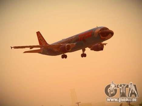 Airbus A320-214 TAM Airlines RIO pour GTA San Andreas vue de côté