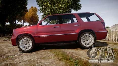 GTA V Albany Cavalcade 2 für GTA 4 linke Ansicht