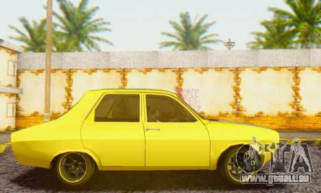 Dacia 1300 Old School pour GTA San Andreas laissé vue