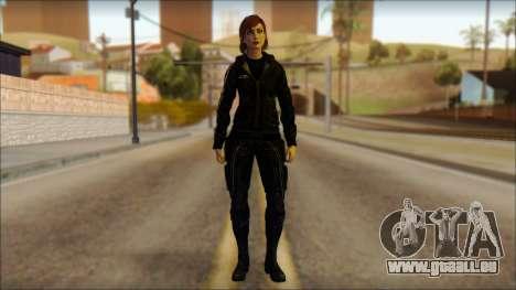 Mass Effect Anna Skin v10 für GTA San Andreas