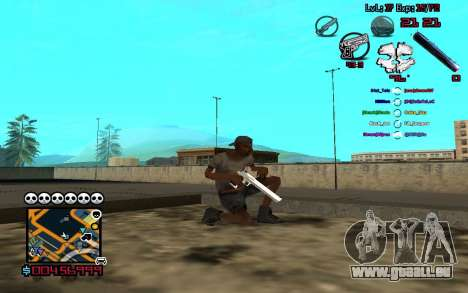 C-HUD by SampHack v.13 pour GTA San Andreas