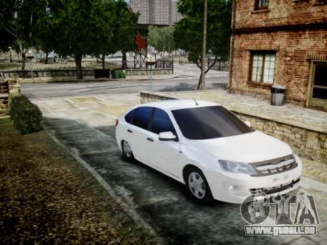 Lada Granta Liftback pour GTA 4 est une gauche
