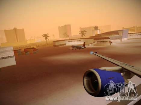 Airbus A320-214 TAM Airlines RIO pour GTA San Andreas roue