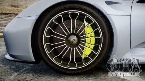 Porsche 918 Spyder 2015 für GTA 4 Rückansicht