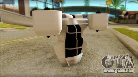 Modern Jetpack pour GTA San Andreas quatrième écran