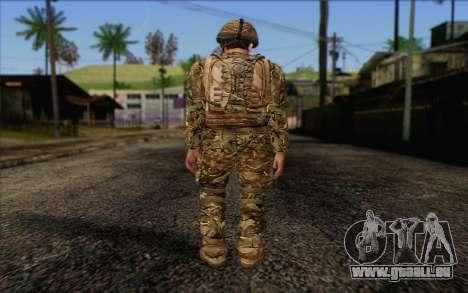 Des soldats britanniques (ArmA II: BAF) v3 pour GTA San Andreas deuxième écran