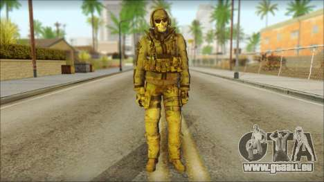 Latino Resurrection Skin from COD 5 pour GTA San Andreas