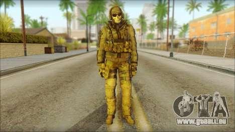 Latino Resurrection Skin from COD 5 für GTA San Andreas