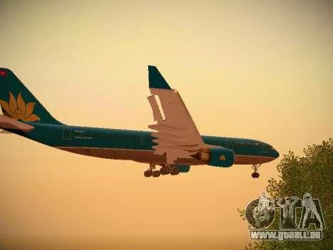 Airbus A330-200 Vietnam Airlines für GTA San Andreas Innen