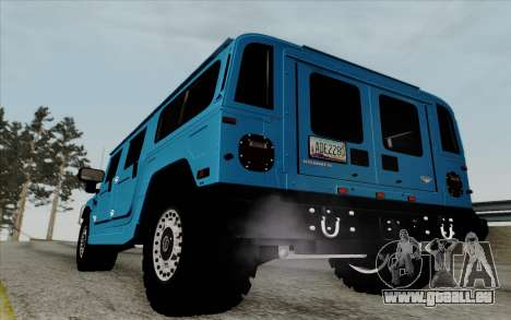 Hummer H1 Alpha 2006 Road version für GTA San Andreas rechten Ansicht