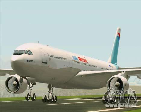 Airbus A330-300 Air Inter für GTA San Andreas linke Ansicht