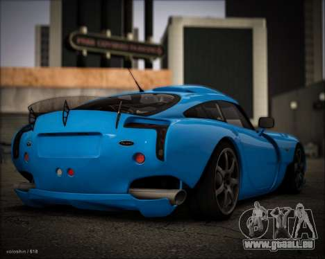 TVR Sagaris 2005 pour GTA San Andreas laissé vue