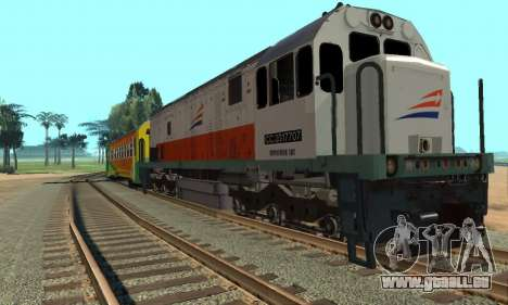 GE U18C CC 201 Indonesian Locomotive für GTA San Andreas