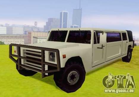 Patriot Limousine für GTA San Andreas