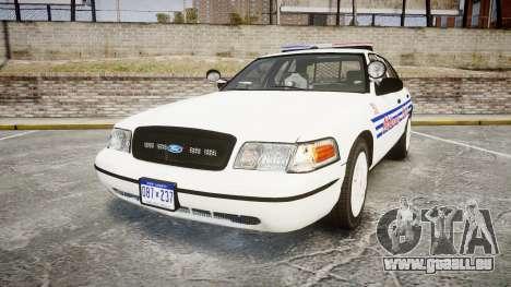 Ford Crown Victoria Alderney Police [ELS] für GTA 4
