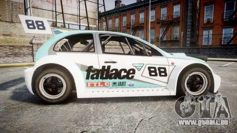 Zenden Cup Fat Lace für GTA 4 linke Ansicht