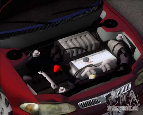 Proton Persona 1996 1.5 Gli für GTA San Andreas Innenansicht