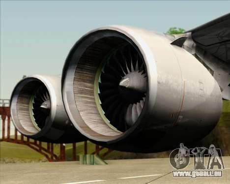 Airbus A380-861 Qatar Airways für GTA San Andreas Seitenansicht