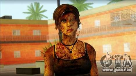 Tomb Raider Skin 13 2013 für GTA San Andreas dritten Screenshot