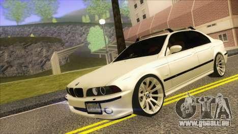 BMW M5 E39 2003 Stance pour GTA San Andreas laissé vue