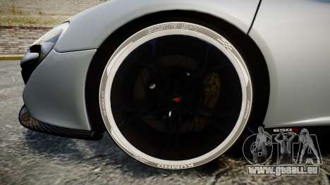 McLaren 650S Spider 2014 [EPM] KUMHO für GTA 4 Rückansicht