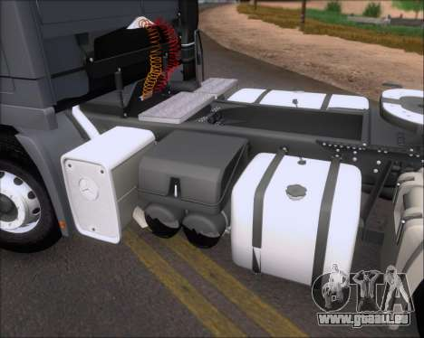 Mercedes-Benz Actros 3241 für GTA San Andreas Unteransicht