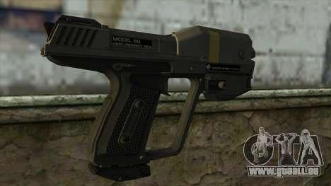 Halo Reach M6G Magnum pour GTA San Andreas deuxième écran