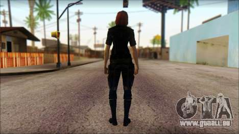 Mass Effect Anna Skin v4 pour GTA San Andreas deuxième écran