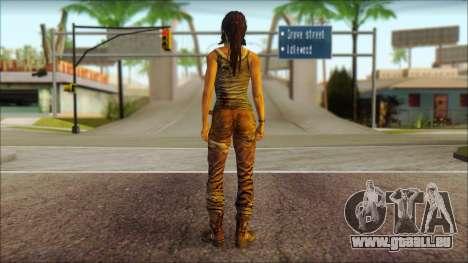 Tomb Raider Skin 8 2013 pour GTA San Andreas deuxième écran