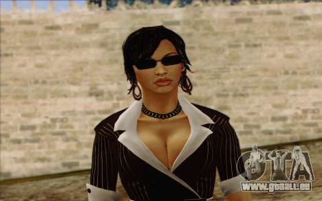 Candy from Batman Arkham Origins für GTA San Andreas dritten Screenshot