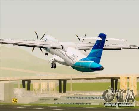 ATR 72-500 Garuda Indonesia Explore für GTA San Andreas Motor