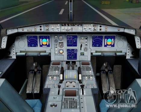Airbus A330-300 Air China pour GTA San Andreas salon