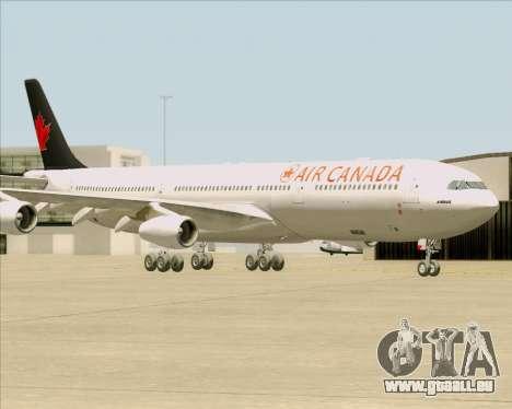 Airbus A340-313 Air Canada für GTA San Andreas Seitenansicht