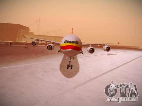 Airbus A340-600 Hainan Airlines für GTA San Andreas linke Ansicht