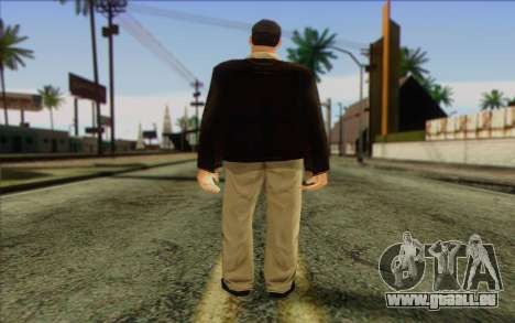 Russian Cats II Skin 2 für GTA San Andreas zweiten Screenshot