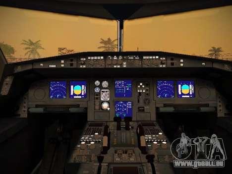 Airbus A340-600 Singapore Airlines für GTA San Andreas