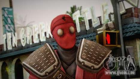Foot Soldier Elite v1 pour GTA San Andreas troisième écran