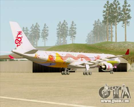 Airbus A330-300 Dragonair (20th Year Livery) pour GTA San Andreas vue de droite