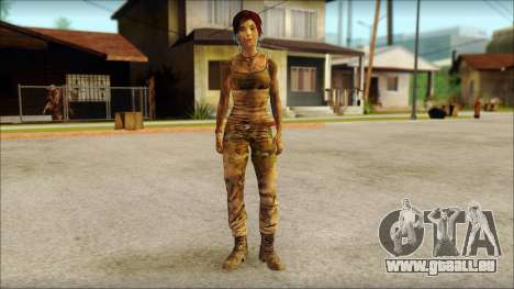 Tomb Raider Skin 10 2013 pour GTA San Andreas